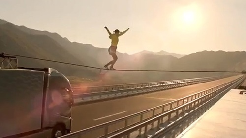 Volvo Trucks - The Ballerina Stunt
