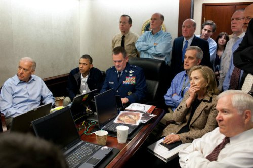 White House Situation Room, May 1, 2011 (Pete Souza/White House)