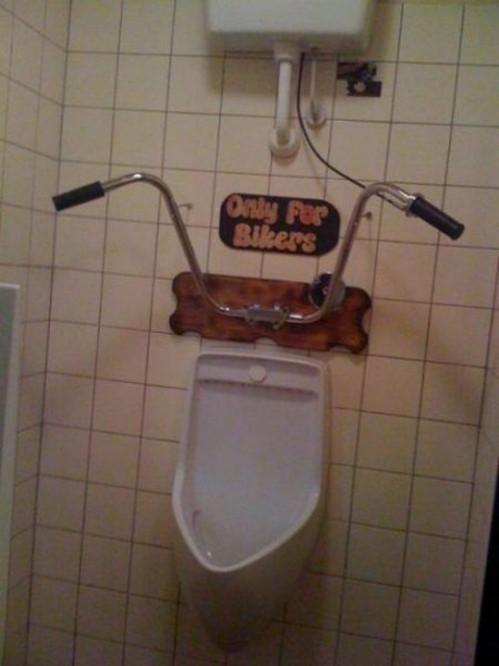 Biker Urinal