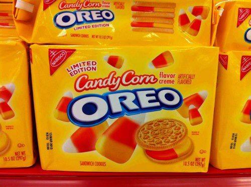 Candy Corn Oreos