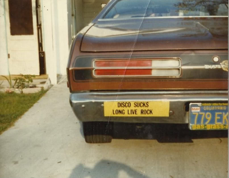 Retro bumper sticker speaking truths even today
