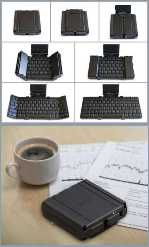 folding computer keyboard