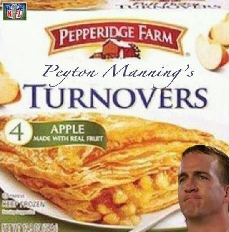 Peyton Manning's Turnovers