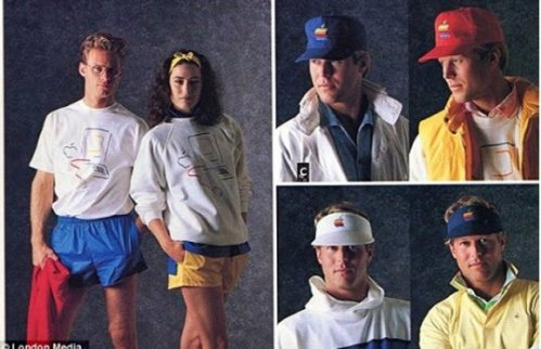 Apple clothing, 1986