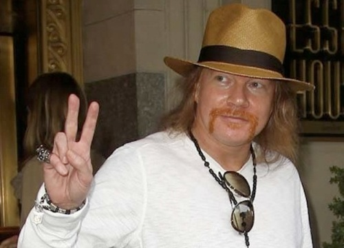 Guns N' Roses' Axl Rose to appear on 'Jimmy Kimmel Live!'
