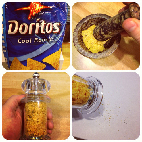 Cool Ranch Doritos hack