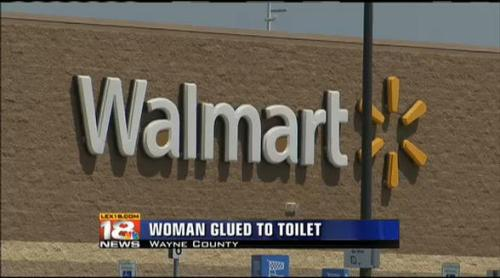 Woman Super Glued To Toilet Seat Inside Kentucky Walmart