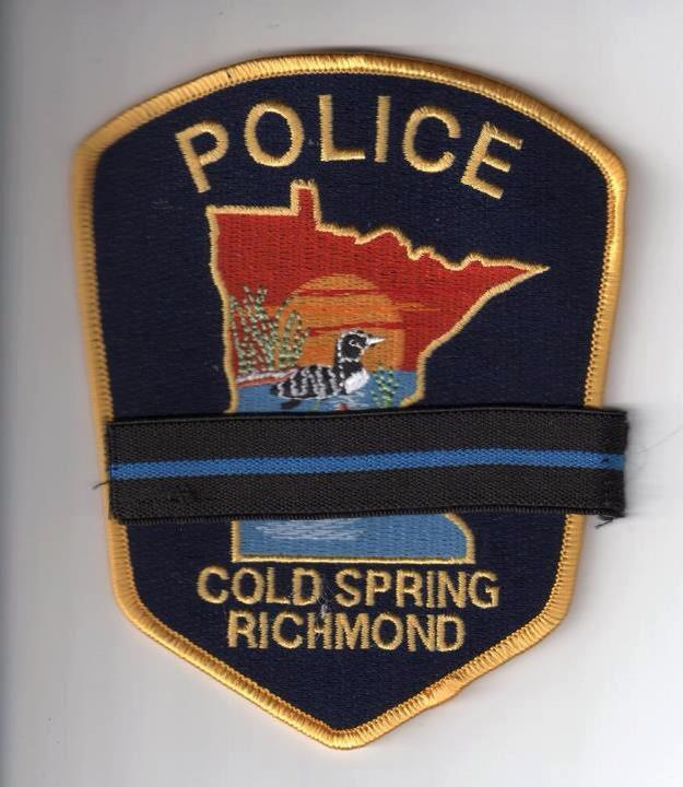 Cold Spring Minn police patch