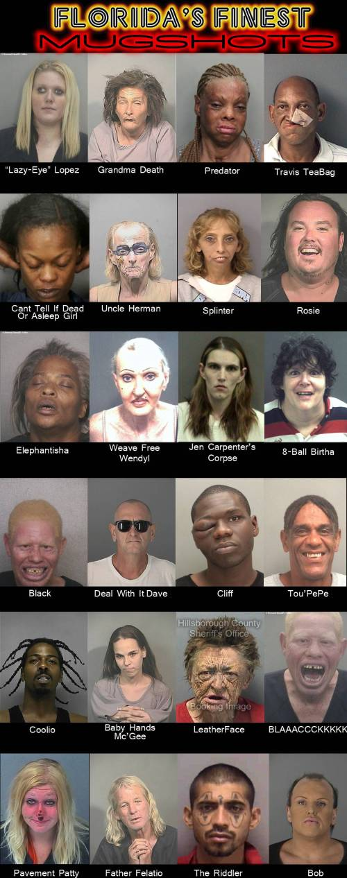 Florida's Best Mugshots