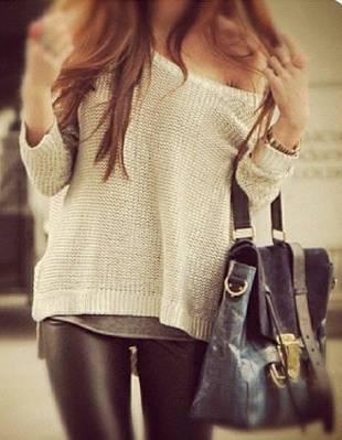 leather leggins