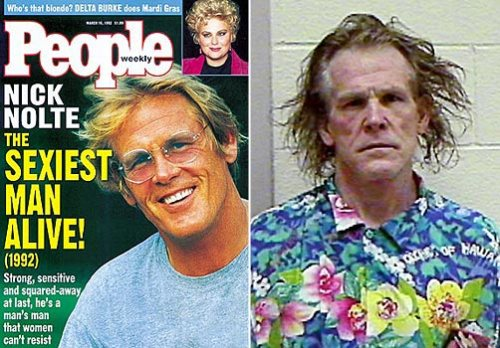 nick nolte then and now