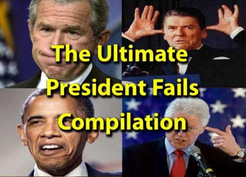 THE ULTIMATE PRESIDENT FAILS COMPILATION