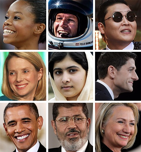 Who do you think should be TIME magazine's Person of the Year 2012?