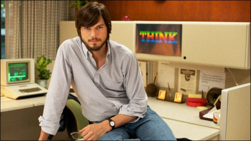 apple, steve jobs, ashton kutcher