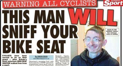 bike seat sniffer