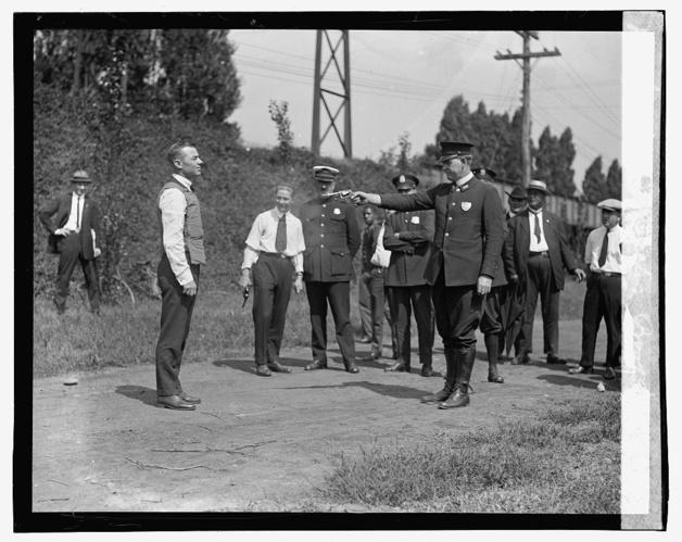 Testing Bulletproof Vest, 1923