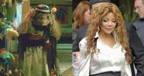 LaToya Jackson is basically E.T.