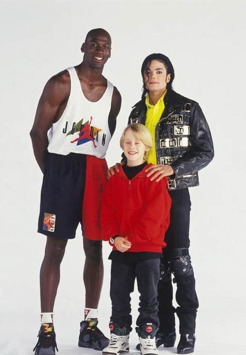 Michael Jordan, Michael Jackson, Macaulay Culkin