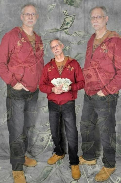 old dude with money