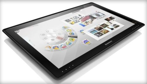 Lenovo to release giant 27-inch tablet PC; stands up as a regular PC