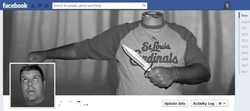 Cool Facebook profile header