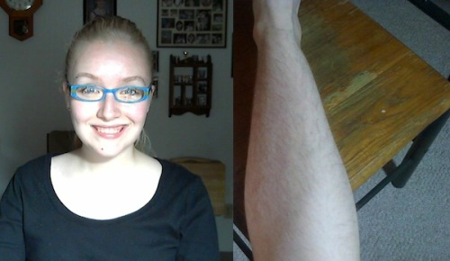 Penguins Fan Refuses To Shave Her Legs