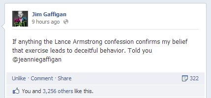 Jim Gaffigan on Lance Armstrong