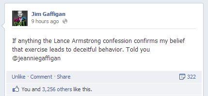 Jim Gaffigan on Lance Armstrong