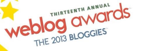 Weblog awards 2013