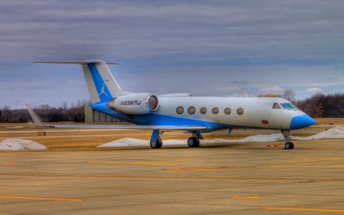 Michael Jordan's personal jet.