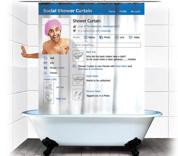 Youtube Shower Curtain