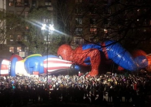 spiderman-weird-parade