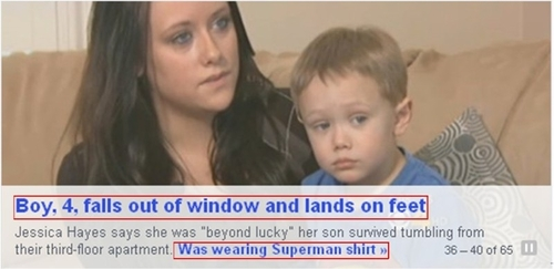 boy falls out window
