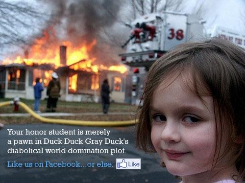 Duck Duck Gray Duck Facebook