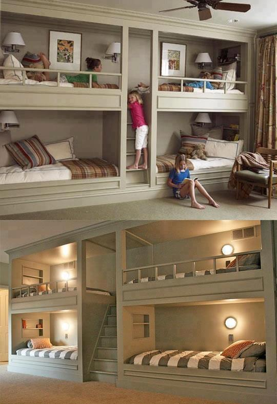 Beautiful Wall Bunk Beds