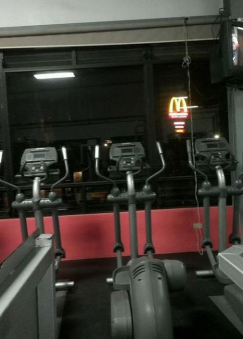 workout gym mcdonalds