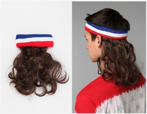 Mullet On-The-Go Wig