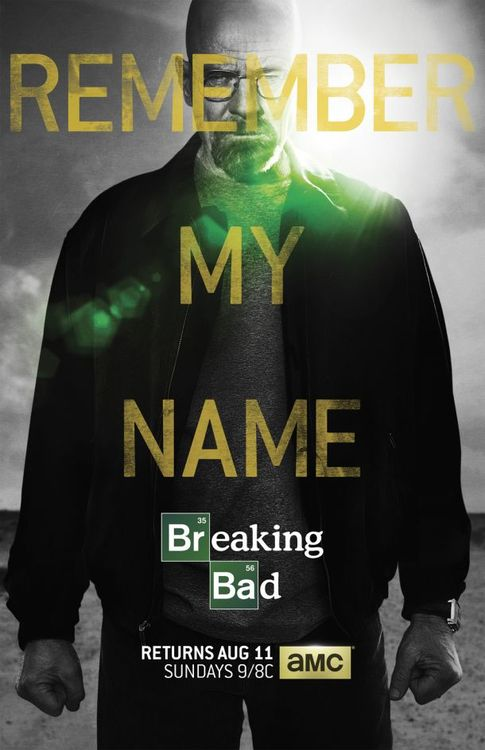 Breaking Bad returns.