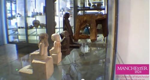 Eygptian statuette