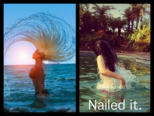 nailed it hair