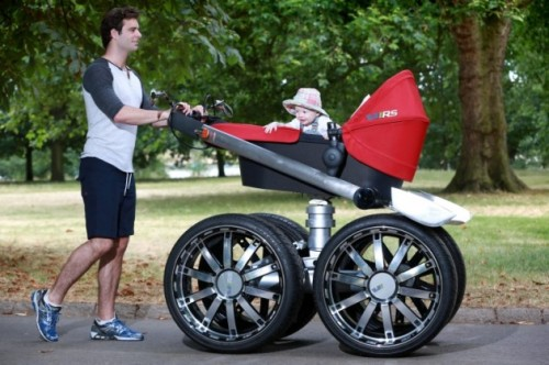 a manly stroller