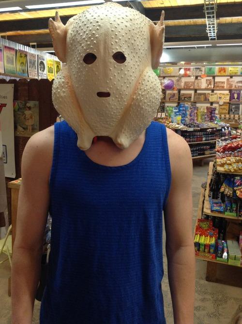 Halloween Chicken Mask