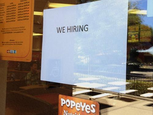 HR at Popeyes