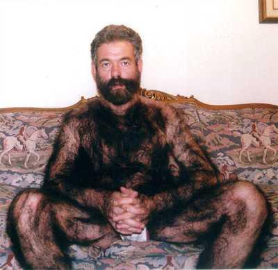 hairy dude