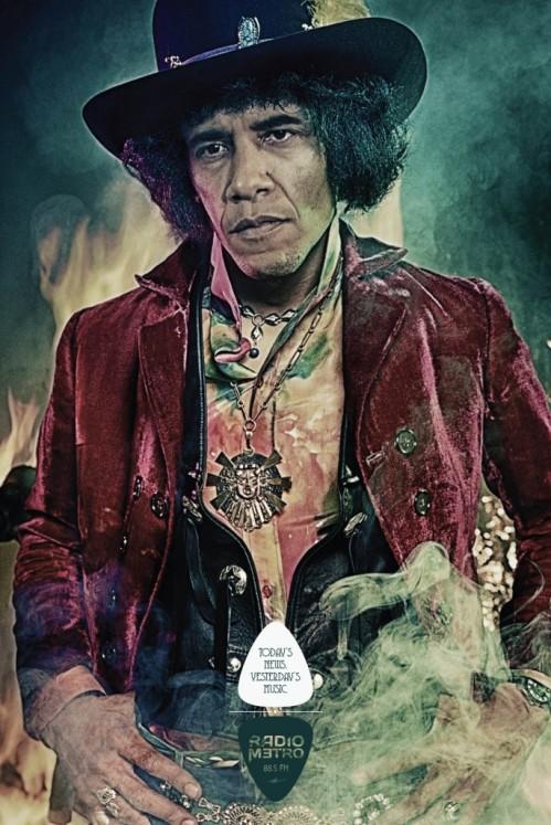Obama-Hendrix
