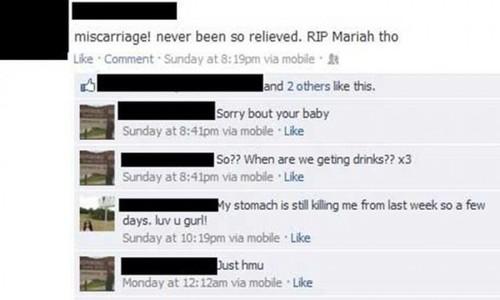 WTF Facebook Status Update