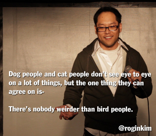 Dog people and cat people