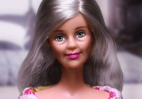 Grad School Barbie