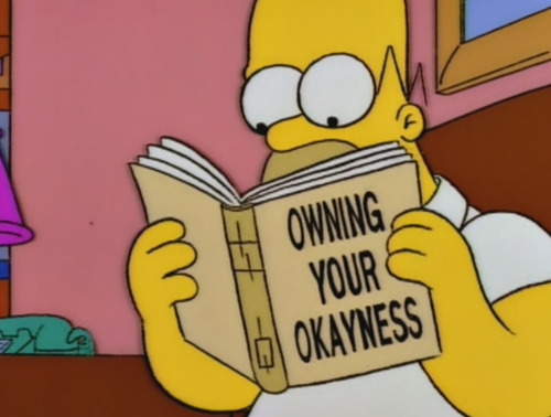 owning your okayness