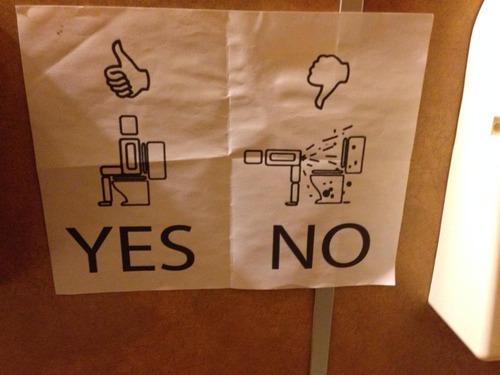 The proper way to poop